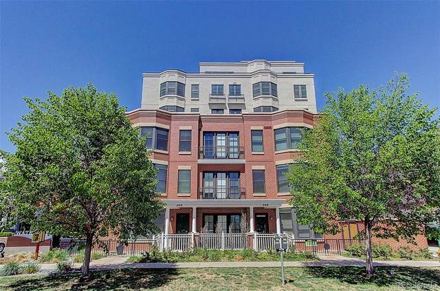 410 Acoma Street Brownstone #1, Denver, CO 80204 (#8098527) :: The Scott Futa Home Team