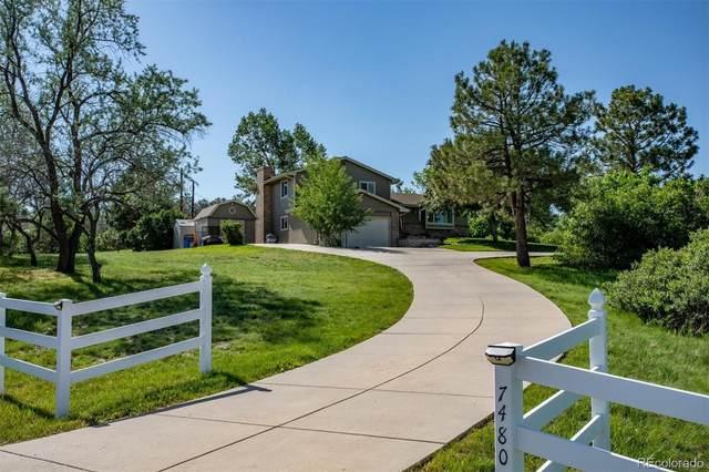 7480 E Park Drive, Franktown, CO 80116 (#8103225) :: Symbio Denver