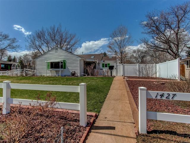 1427 S Dahlia Street, Denver, CO 80222 (#8104818) :: The Heyl Group at Keller Williams