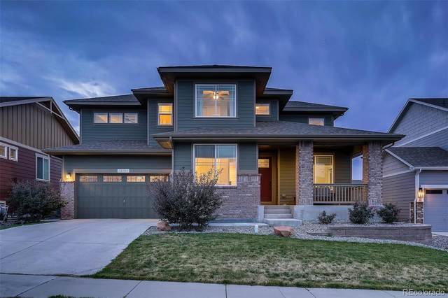12183 Pine Post Drive, Parker, CO 80138 (#8111699) :: The Scott Futa Home Team