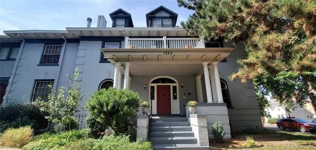 1373 N Franklin Street #5, Denver, CO 80218 (#8113152) :: The Griffith Home Team