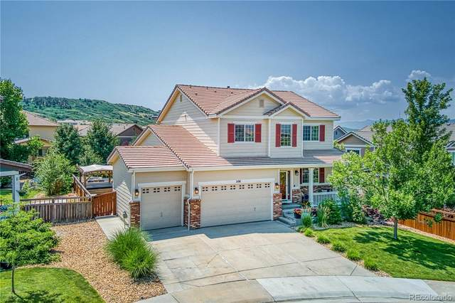 5198 Lemon Grass Place, Castle Rock, CO 80109 (#8115435) :: The Colorado Foothills Team | Berkshire Hathaway Elevated Living Real Estate