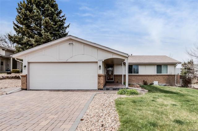 8933 W 78th Circle, Arvada, CO 80005 (#8118022) :: RE/MAX Professionals