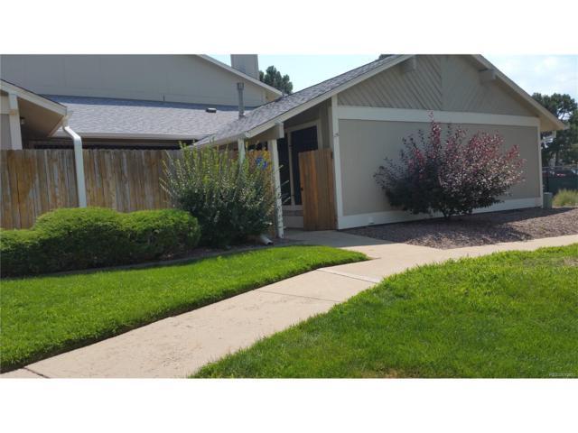 10321 E Evans Avenue #176, Aurora, CO 80247 (MLS #8118172) :: 8z Real Estate