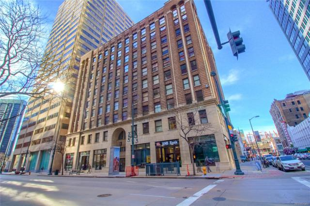 444 17th Street #406, Denver, CO 80202 (#8119545) :: The Pete Cook Home Group