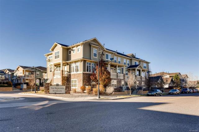 9381 Ashbury Circle #101, Parker, CO 80134 (#8127615) :: House Hunters Colorado
