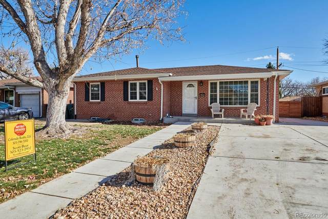 1460 S Gray Street, Lakewood, CO 80232 (#8131308) :: Mile High Luxury Real Estate
