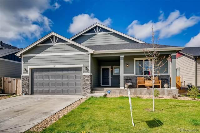 907 S Prairie Drive, Milliken, CO 80543 (#8133113) :: My Home Team