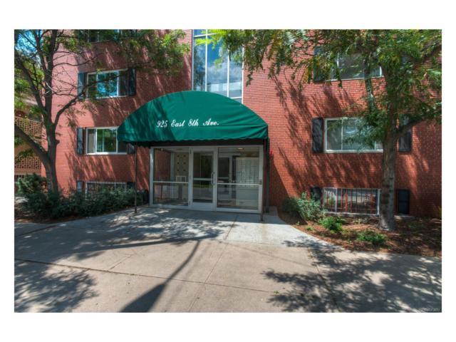 925 E 8th Avenue #335, Denver, CO 80218 (MLS #8135586) :: 8z Real Estate