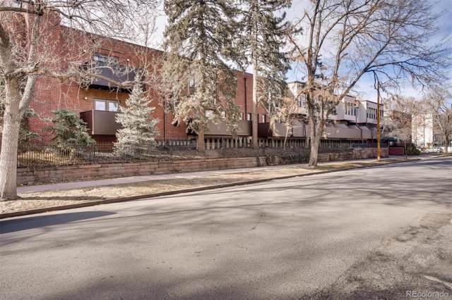 899 Pearl Street #22, Denver, CO 80203 (MLS #8136604) :: Kittle Real Estate