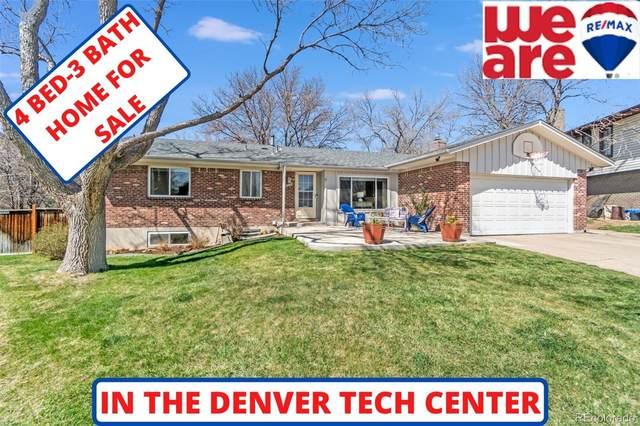 8043 E Oberlin Place, Denver, CO 80237 (#8136743) :: Colorado Home Finder Realty
