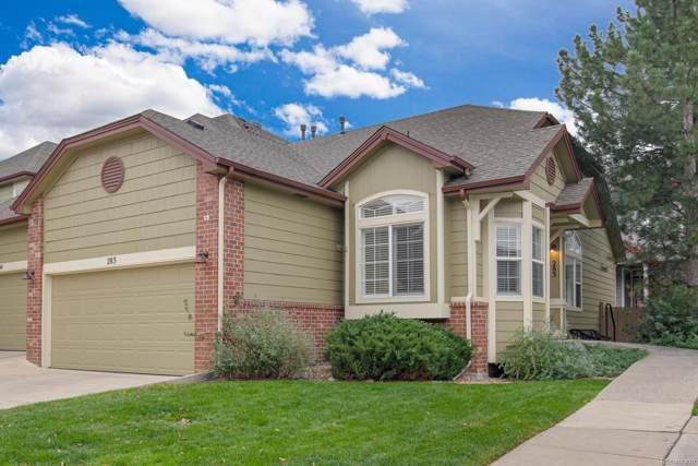 2855 Rock Creek Circle #283, Superior, CO 80027 (MLS #8136878) :: Kittle Real Estate