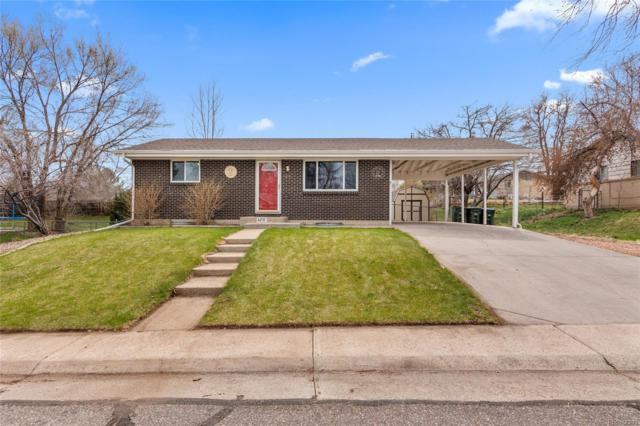 1210 W 102nd Place, Northglenn, CO 80260 (#8137058) :: The Healey Group