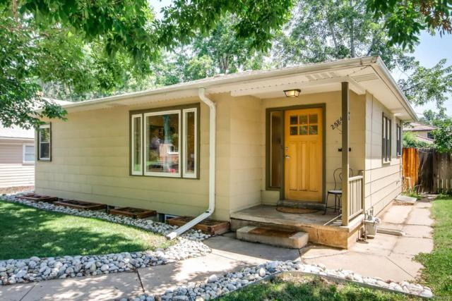 2584 S Logan Street, Denver, CO 80210 (#8137471) :: The Pete Cook Home Group