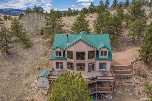758 Castle Mountain Drive, Florissant, CO 80816 (#8141534) :: The DeGrood Team