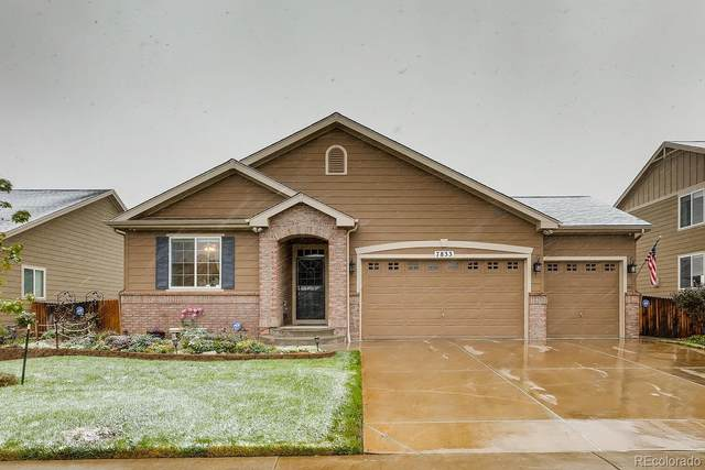 7833 E 123rd Place, Brighton, CO 80602 (MLS #8147816) :: Kittle Real Estate