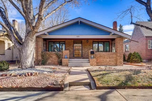 820 Jackson Street, Denver, CO 80206 (MLS #8149463) :: The Sam Biller Home Team