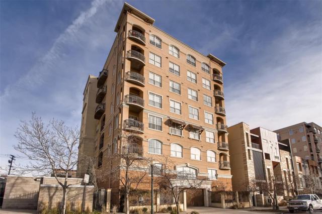 1140 Cherokee Street #403, Denver, CO 80204 (#8150514) :: The Peak Properties Group