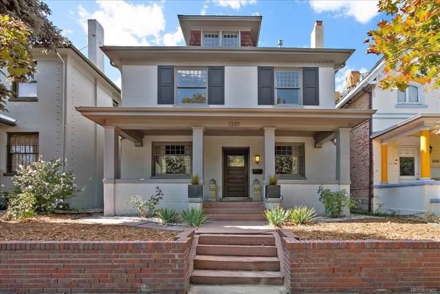 1337 N Corona Street, Denver, CO 80218 (#8159549) :: The Peak Properties Group