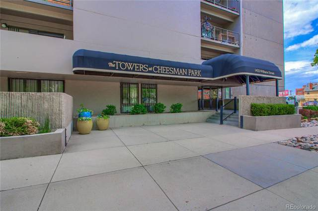 1433 N Williams Street #502, Denver, CO 80218 (#8163053) :: Briggs American Properties