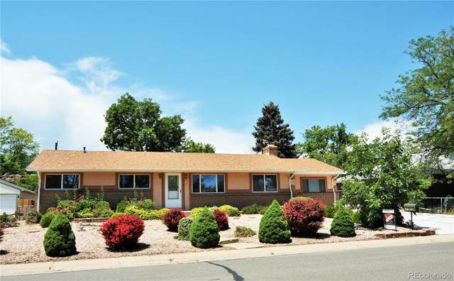 2011 S Carr Street, Lakewood, CO 80227 (#8166235) :: The Gilbert Group
