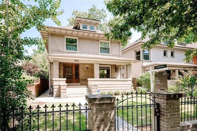860 N Marion Street, Denver, CO 80218 (#8167580) :: The Artisan Group at Keller Williams Premier Realty