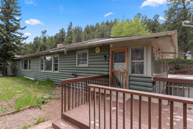 413 County Road 21, Woodland Park, CO 80863 (#8171305) :: Bring Home Denver with Keller Williams Downtown Realty LLC