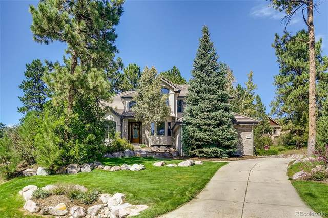 574 Castle Pines Drive, Castle Rock, CO 80108 (MLS #8171392) :: 8z Real Estate