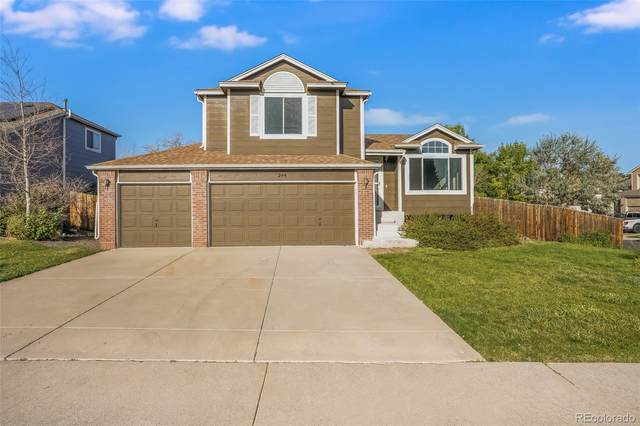 244 Bristol Street, Castle Rock, CO 80104 (#8171490) :: THE SIMPLE LIFE, Brokered by eXp Realty