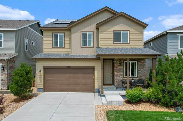 15541 W 93rd Place, Arvada, CO 80007 (#8172207) :: Finch & Gable Real Estate Co.