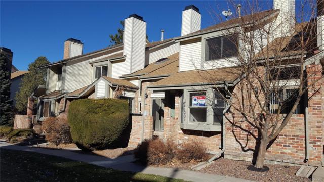 4120 S Evanston Circle D, Aurora, CO 80014 (#8179567) :: Real Estate Professionals