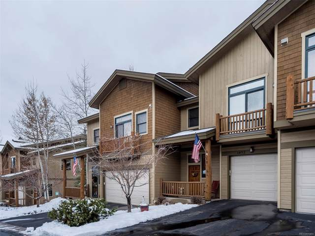 1452 Moraine Circle #19, Steamboat Springs, CO 80487 (#8180704) :: The HomeSmiths Team - Keller Williams