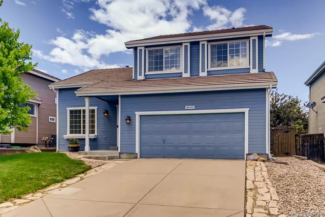 4693 Fenwood Drive, Highlands Ranch, CO 80130 (#8180916) :: Peak Properties Group