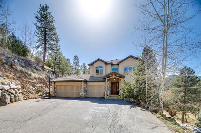 27365 Troublesome Gulch Road, Evergreen, CO 80439 (#8181080) :: Wisdom Real Estate
