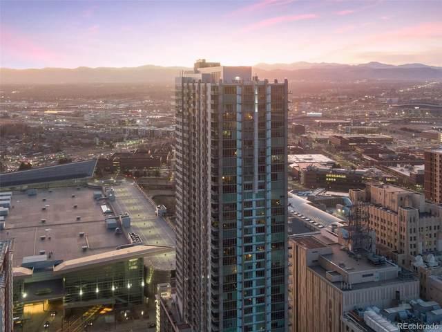 891 14th Street #2309, Denver, CO 80202 (#8181124) :: Finch & Gable Real Estate Co.