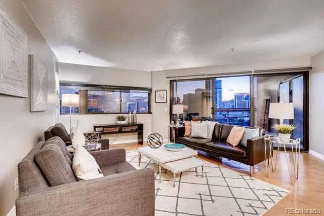 100 Park Avenue #1208, Denver, CO 80205 (#8183378) :: Colorado Home Finder Realty
