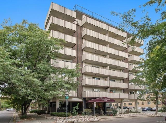 1313 Steele Street #602, Denver, CO 80206 (#8185527) :: Wisdom Real Estate