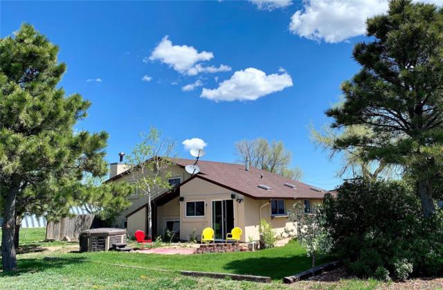 14180 N Ellicott Highway, Calhan, CO 80808 (#8185552) :: Mile High Luxury Real Estate