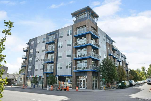 1488 Madison Street #406, Denver, CO 80206 (#8189863) :: The Healey Group