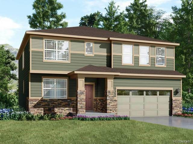 17551 Springfield Drive, Parker, CO 80134 (MLS #8191628) :: Kittle Real Estate