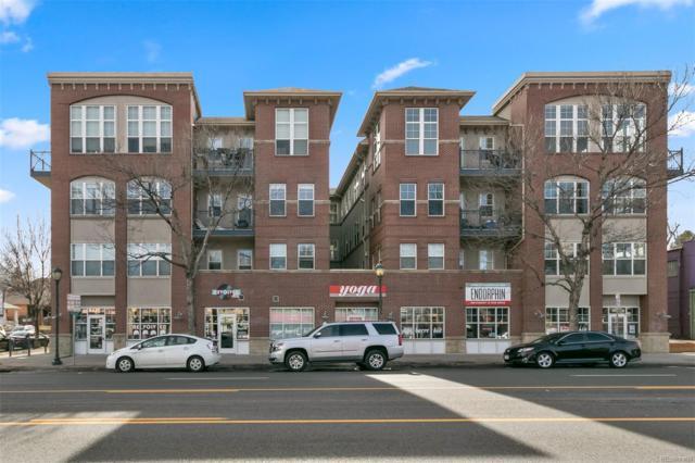 1489 Steele Street #103, Denver, CO 80206 (#8193964) :: Wisdom Real Estate