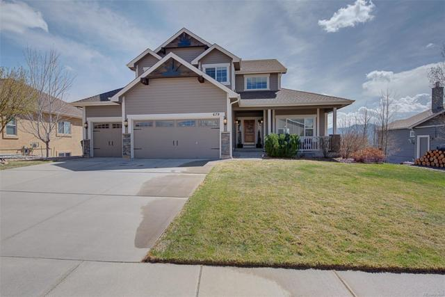 679 Burke Hollow Drive, Monument, CO 80132 (#8194393) :: The Healey Group