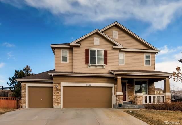 2408 Thistle Court, Castle Rock, CO 80109 (MLS #8195421) :: 8z Real Estate