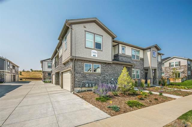 24896 E Calhoun Place A, Aurora, CO 80016 (#8198194) :: Finch & Gable Real Estate Co.