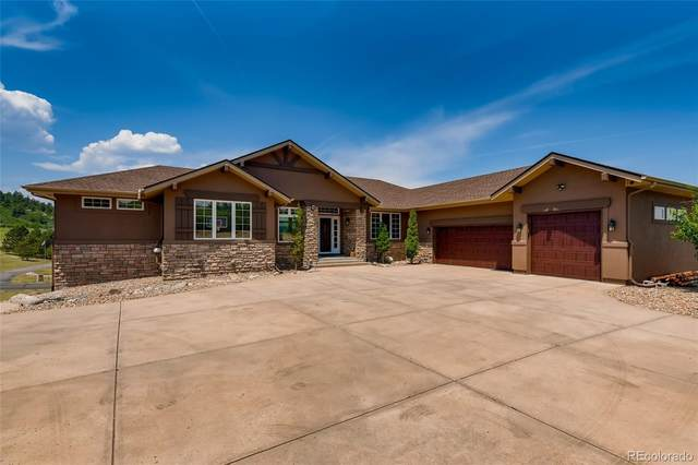 4588 High Spring Road, Castle Rock, CO 80104 (#8198722) :: The Colorado Foothills Team | Berkshire Hathaway Elevated Living Real Estate