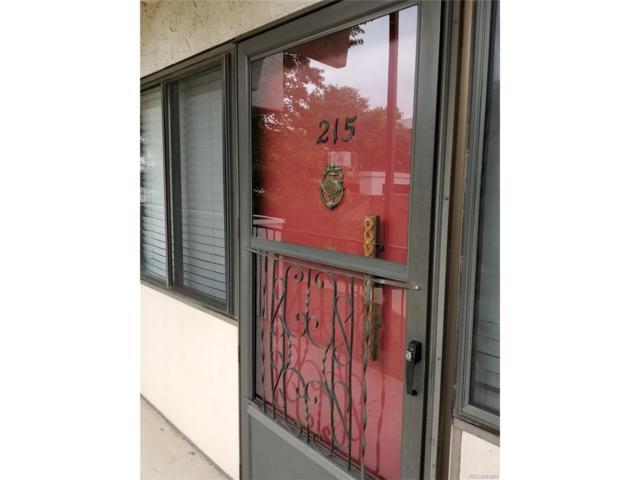 364 S Ironton Street #215, Aurora, CO 80012 (#8199240) :: The Galo Garrido Group