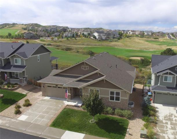 2421 Fairway Wood Circle, Castle Rock, CO 80109 (#8199449) :: House Hunters Colorado