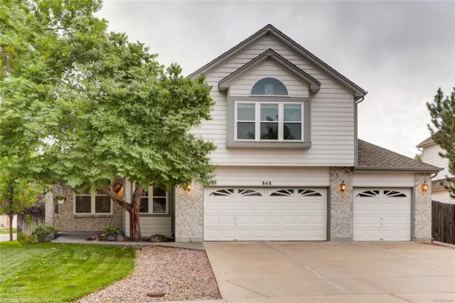 848 E 132nd Avenue, Thornton, CO 80241 (#8201575) :: Bring Home Denver