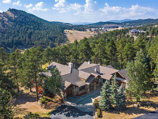 1484 Silver Rock Lane, Evergreen, CO 80439 (#8202261) :: Bring Home Denver with Keller Williams Downtown Realty LLC