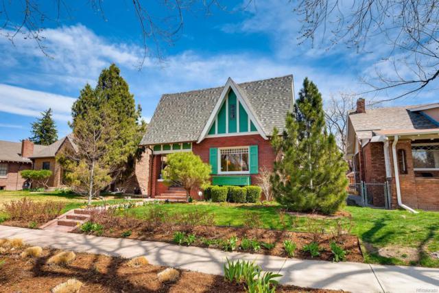 312 N Ogden Street, Denver, CO 80218 (#8202625) :: The Pete Cook Home Group